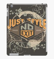 Just Style Authentic Ecology iPad Case/Skin
