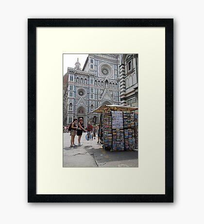 cityscapes #147, la tourista Framed Print