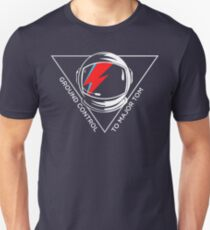 Tribute to David Bowie Slim Fit T-Shirt