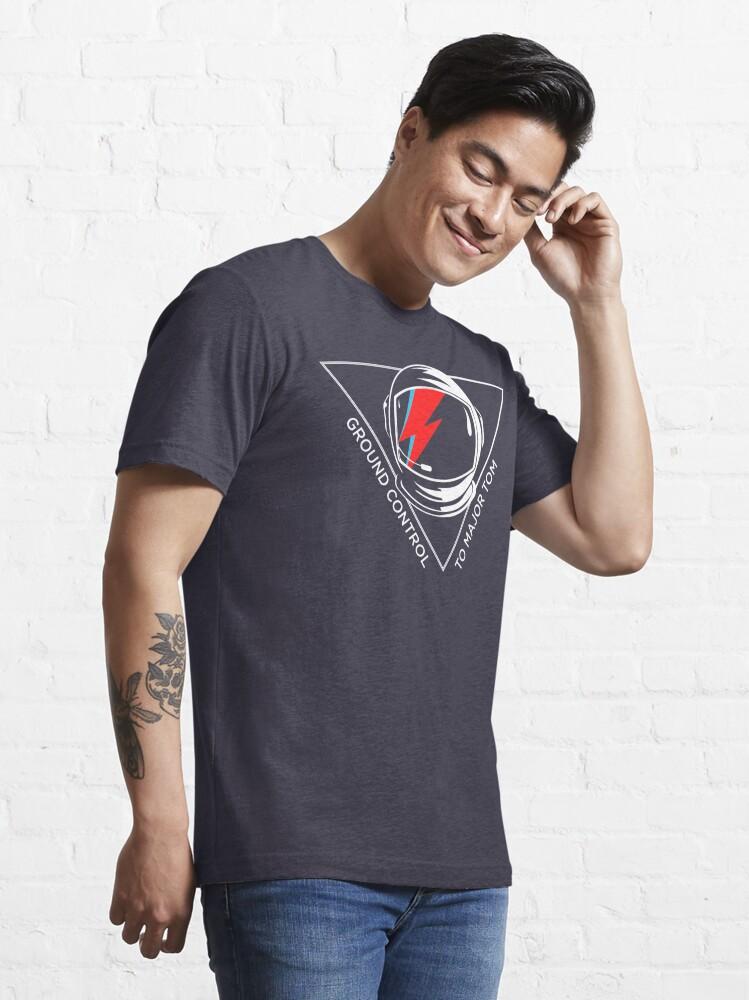 Vista alternativa de Camiseta esencial Homenaje a David Bowie