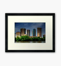 Winnipeg Skyline Framed Print