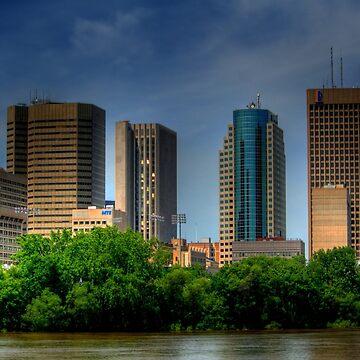 Winnipeg Skyline by umpa1