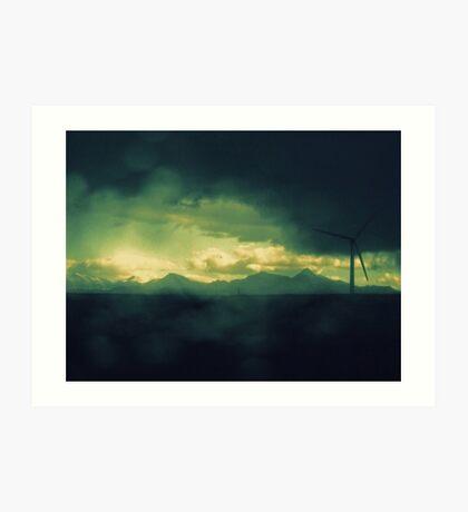 ...in Sheets of Shining Memory Art Print