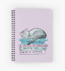 The Art of the Miau Spiral Notebook