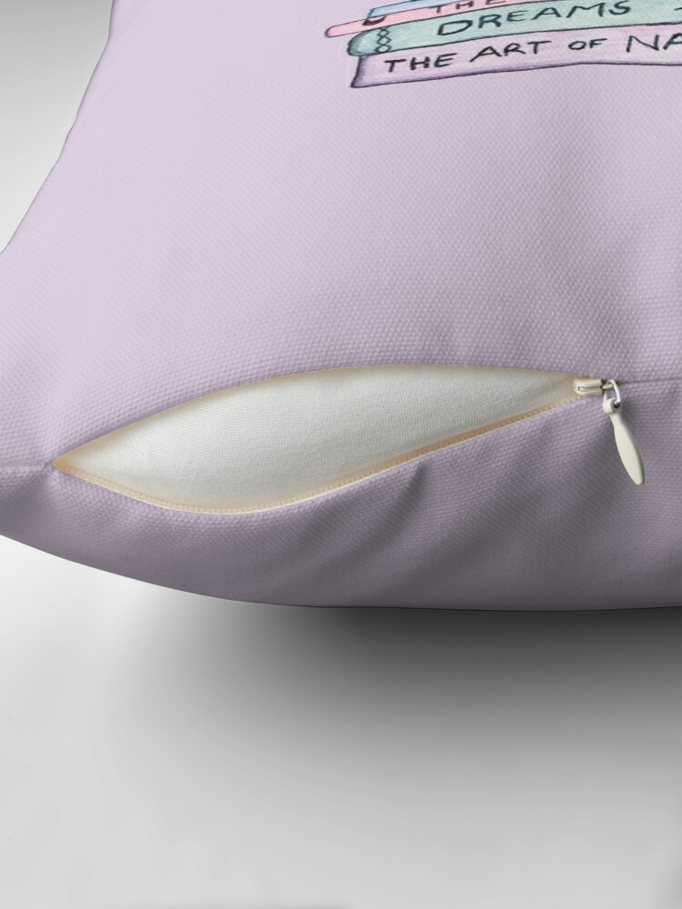 Alternate view of The Art of the Miau Floor Pillow