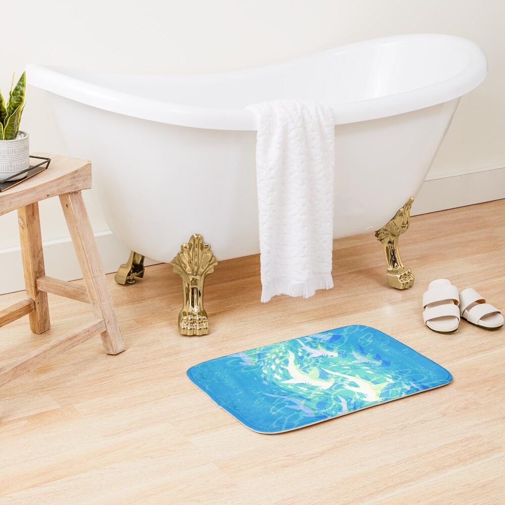 Hammerhead Migration Bath Mat