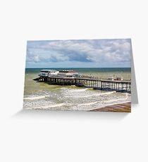 Cromer Pier Greeting Card