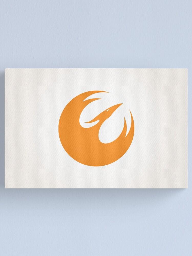 Alternate view of Phoenix Squad Logo Canvas Print