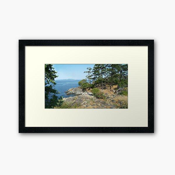 View Too Framed Art Print