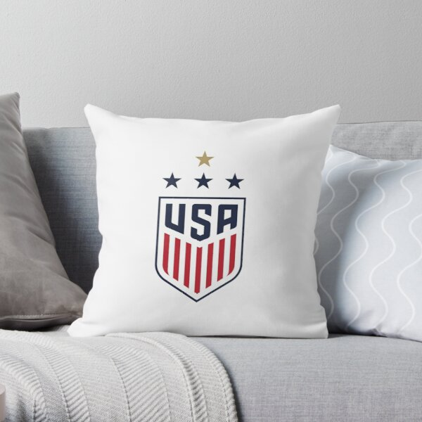 USWNT US Womens National Soccer Team Throw Pillow