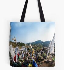 Prayers carried by the wind Tote Bag