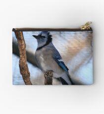 Blue Jay(Cyganocitta Cristata) Studio Pouch