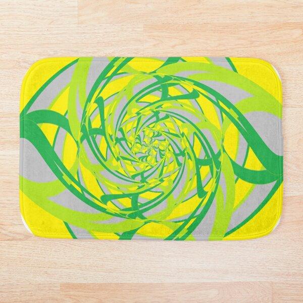 #Abstract, #proportion, #art, #flower, pattern, bright, decoration, kaleidoscope, ornate, creativity Bath Mat