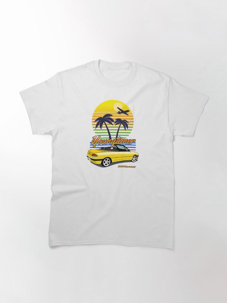 T-shirt classique ''Youngtimer - Genêt / Ouragan': autre vue