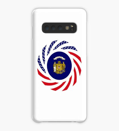 Wisconsin Murican Patriot Flag Series Case/Skin for Samsung Galaxy
