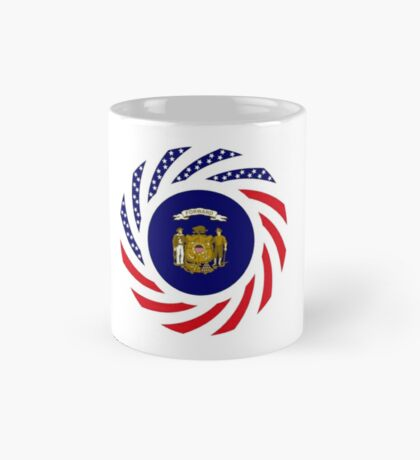 Wisconsin Murican Patriot Flag Series Mug