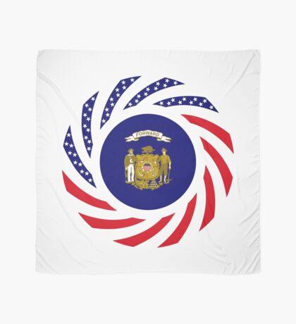 Wisconsin Murican Patriot Flag Series Scarf