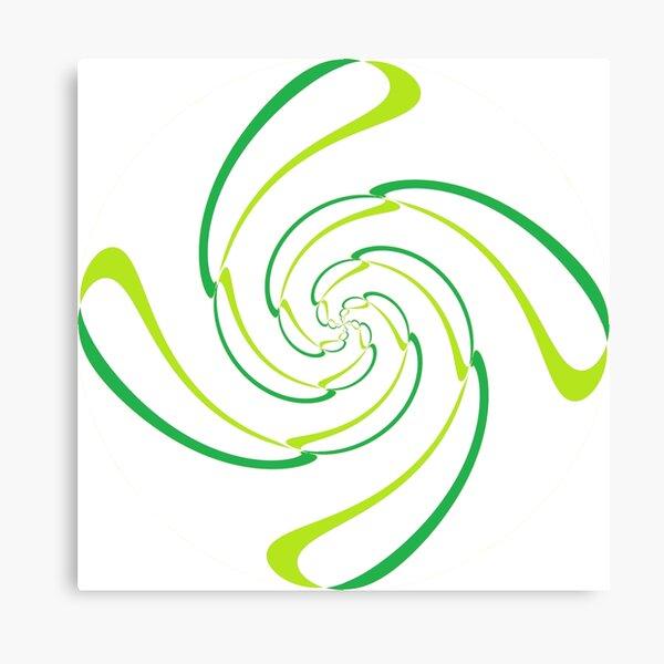 #Abstract, #proportion, #art, #flower, pattern, bright, decoration, kaleidoscope, ornate, creativity Canvas Print