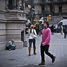 The Pink Man by dannyphoto