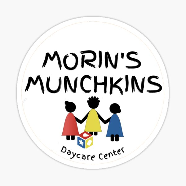 Morin's Munchkins Daycare Sticker