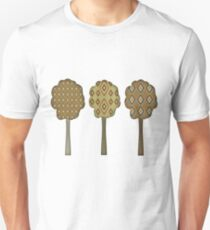 Women's Retro Autumn Tree T Shirt Unisex T-Shirt