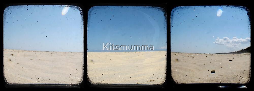 Sand Dunes - TTV Triptych by Kitsmumma