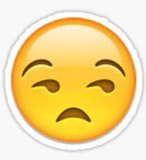 Annoyed Emoji Sticker