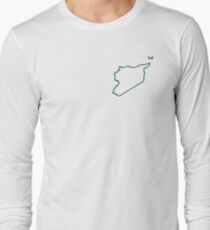 """Syria """"Citizen of the Earth"""" small Long Sleeve T-Shirt"""
