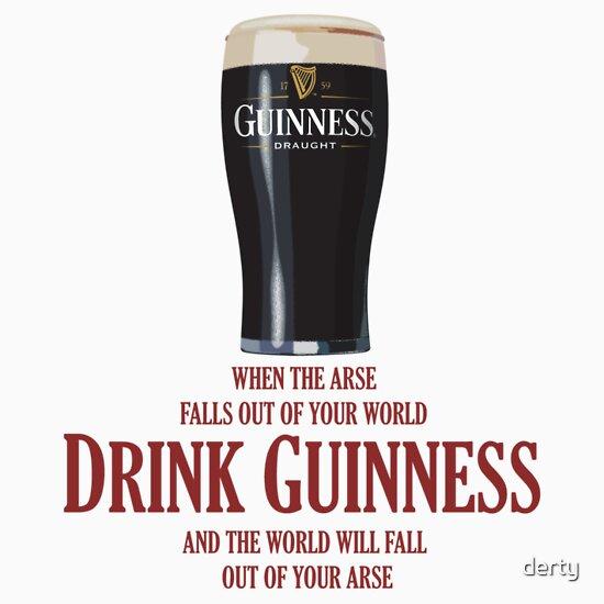 TShirtGifter presents: Drink Guinness
