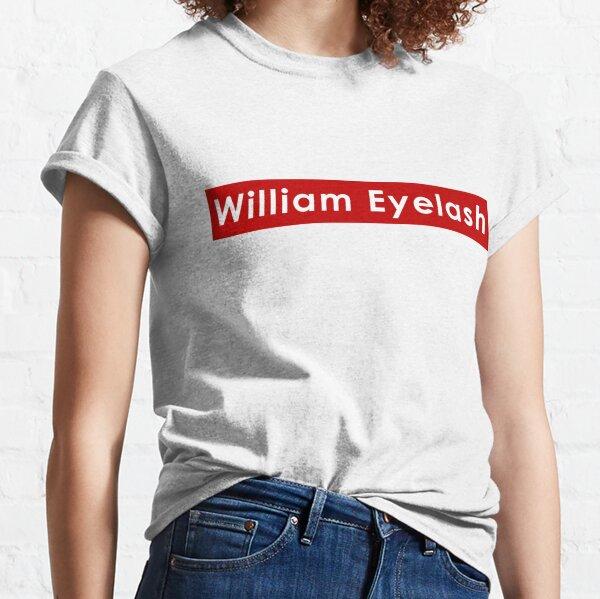 William Eyelash Billie Eilish T-shirt classique