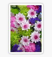 Colorful floral spring bouquet Sticker