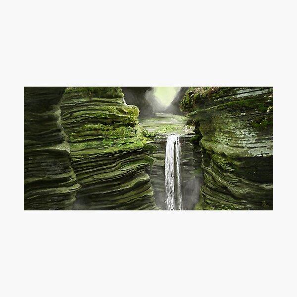 Emerald Falls Photographic Print