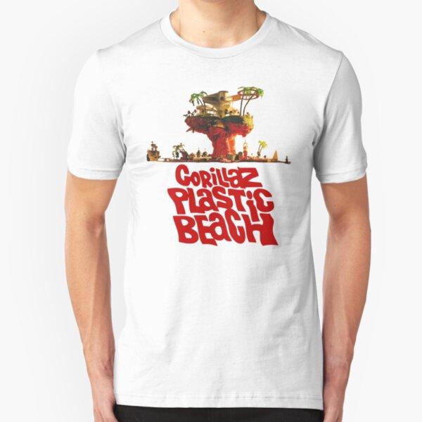 goorillooz- ploostooc booooch Slim Fit T-Shirt