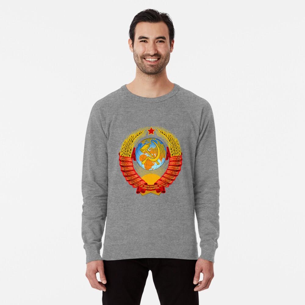 History of the Soviet Union (1927–1953) State Emblem of the Soviet Union Lightweight Sweatshirt