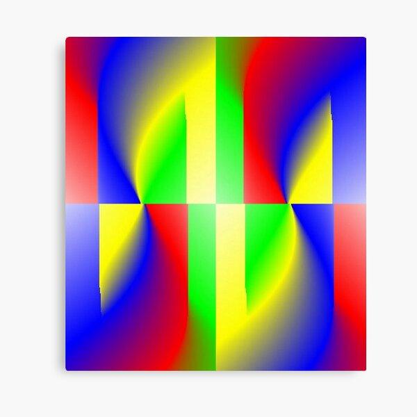 Flames of Colors Canvas Print