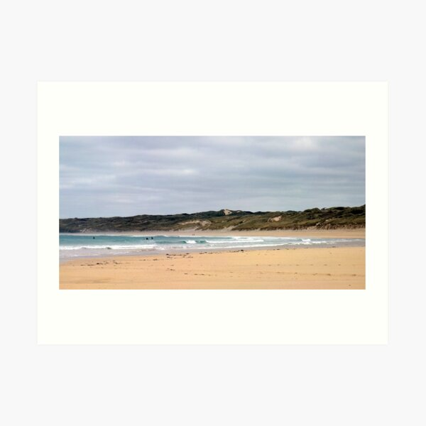 Hayle Beach Cornwall Art Print