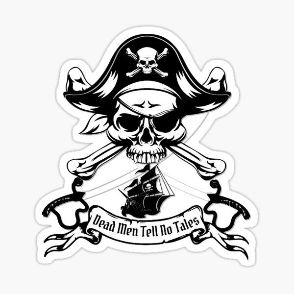 Dead Men Tell No Tales Sticker