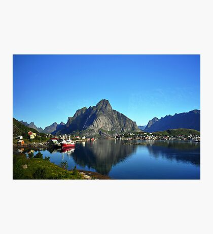 Å i Lofoten Photographic Print
