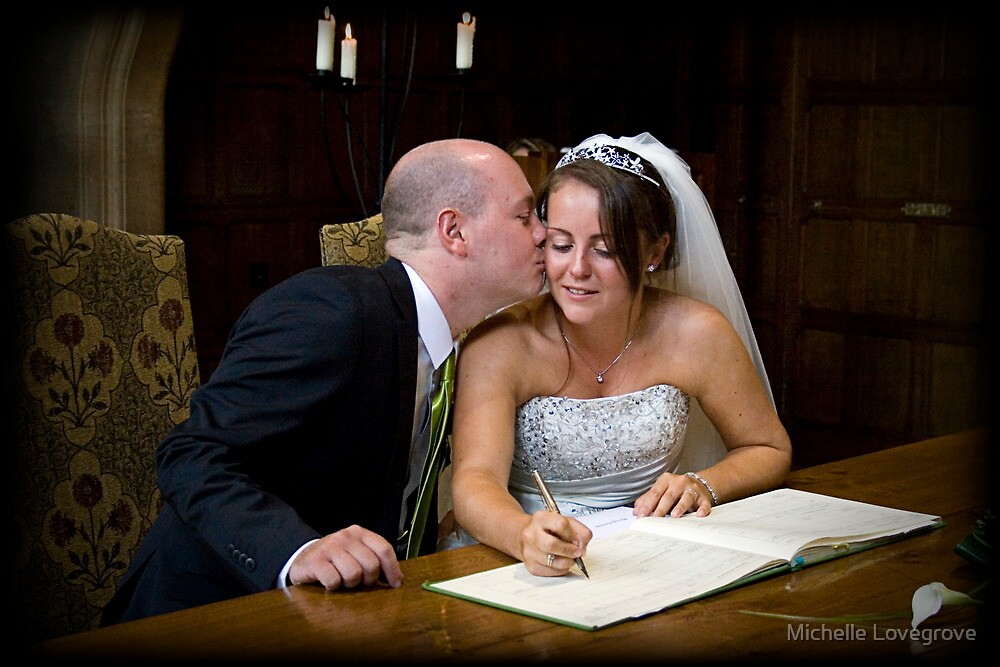 Signing the Register by Michelle Lovegrove