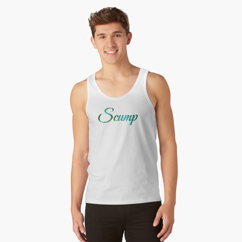 Scump óptico Camiseta de tirantes