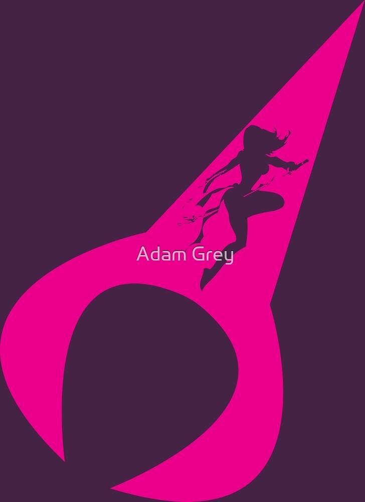 Psylocke by Adam Grey