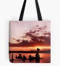 Sun Going Down Tote Bag