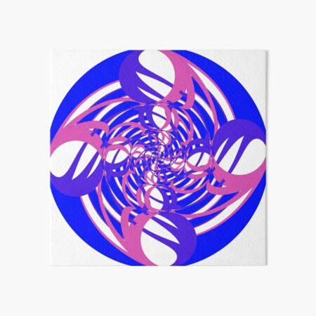 #OpArt, #visual #illusion, #VisualArt, opticalart, opticalillusion, opticalillusionart, opticalartillusion, psyhodelic, psichodelic, psyhodelicart Art Board Print