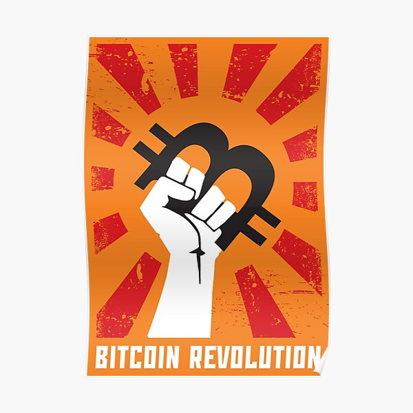Bitcoin revolution Poster