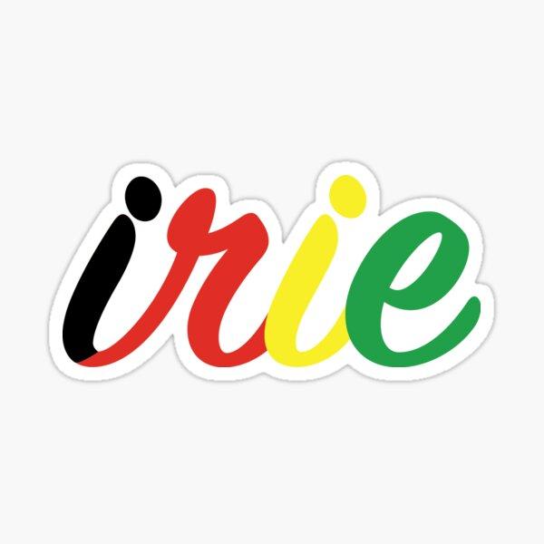 Irie Rasta Sticker