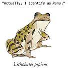 Rana pipiens by LorraineRenee