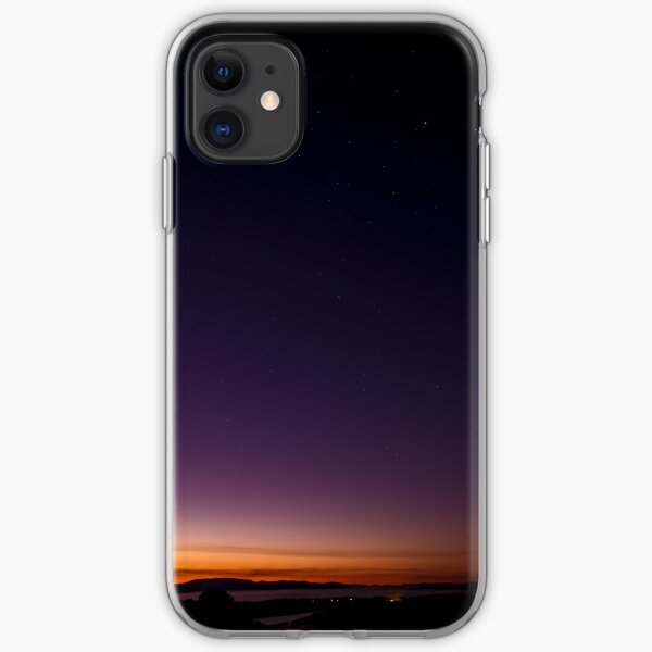 Sunrise on Mount Dandenong iPhone Soft Case
