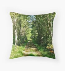 Down the Lane II Throw Pillow
