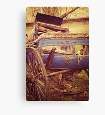History In A Vintage Carriage Canvas Print
