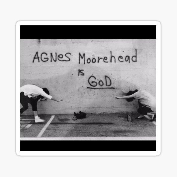 Agnes Moorehead is God Sticker